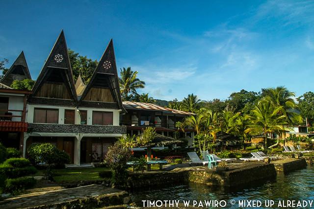Indonesia - North Sumatra - Samosir - Lake Toba - Lekjon - The cottages