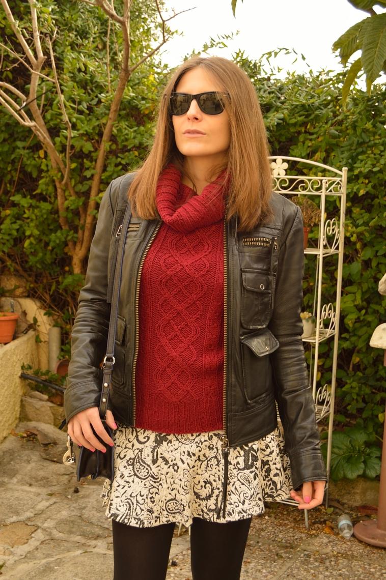 lara-vazquez-madlula-blog-biker-jacket-burgundy-biker-jacket-skirt