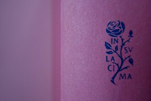 Margaret Mazzantini, Splendore. Mondadori 2013. Art Director: Giacomo Callo; Progetto Grafico: Marcello Dolcini; Graphic Designer: Susanna Tosatti; alla sovracop: ©R. McGinley. Dorso di cop. (part.), 1