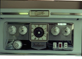 Gurney electric range from the 1950's