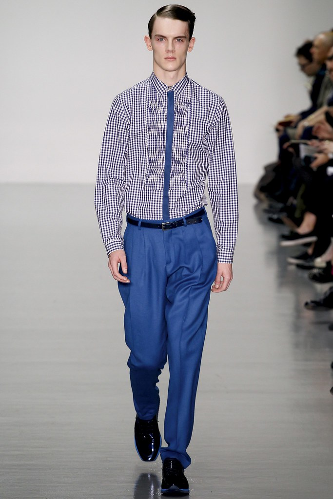 FW14 London Richard Nicoll020_Callum Ward(VOGUE)