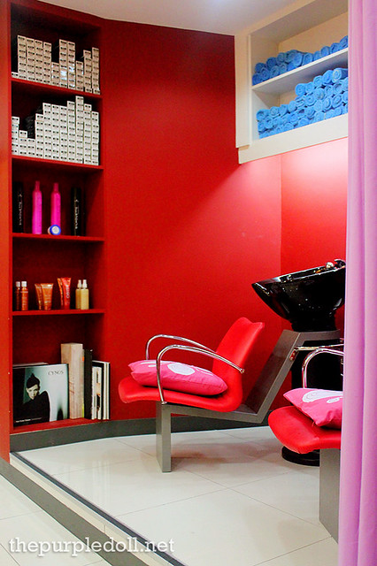 Creations by Lourd Ramos ETON Cyberpod Corinthian Shampoo Area