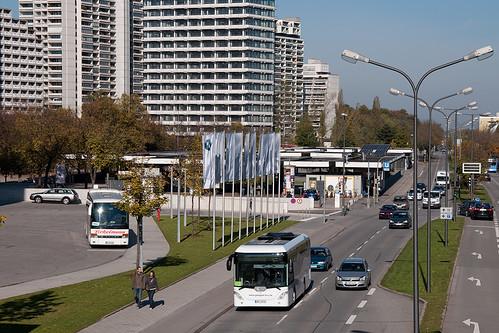 Ab in die Stadt: Go4city im Stadtverkehr am Olympiazentrum