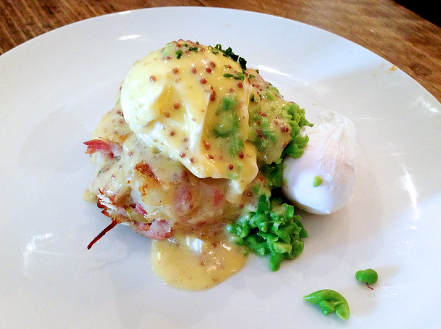 Ham Hock Hash and Poached Eggs
