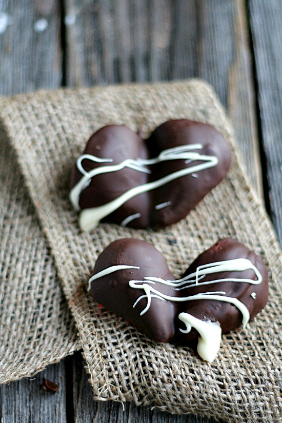 #ghirardelli chocolate CoveredStrawberry Hearts