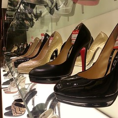 shoe store, brown, footwear, shoe, high-heeled footwear, leather,