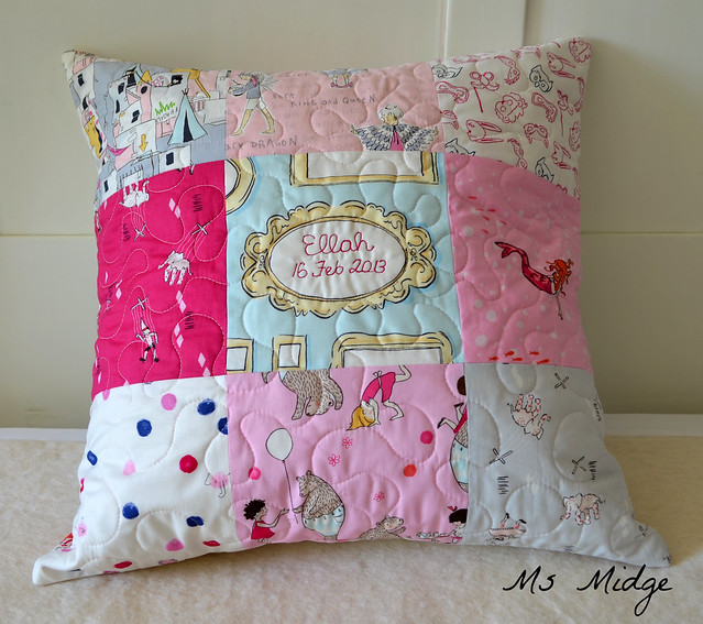 Personalised Cushion for Ellah