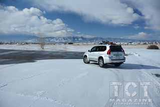 GX-470 for Family Adventure & Ski / snowboard transport | TCT Magazine January 2014