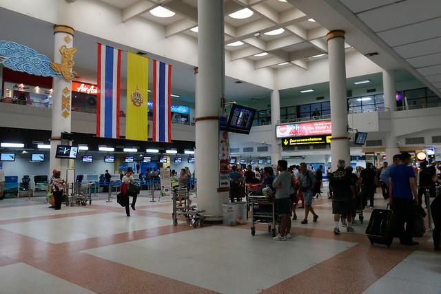 Phuket Airport, Lobby