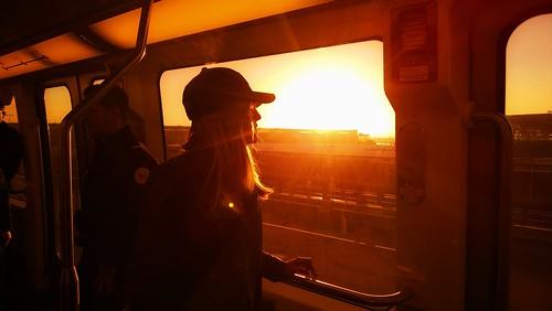 morning light sun girl train sunrise fly nokia photo airport tram teen 920 windowsphone lumia okia blinkagain nokialumia920 busdly