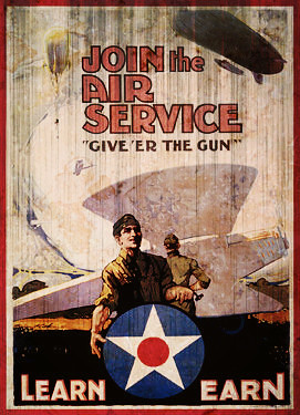 U.S. Army Air Corp WWI Poster