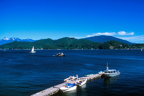 Plumper Cove Marine Park at Keats Island, Gibsons, Howe Sound, Sunshine Coast, British Columbia, Canada