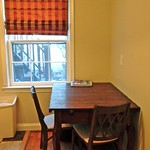Solid wood antique dining and workspace table