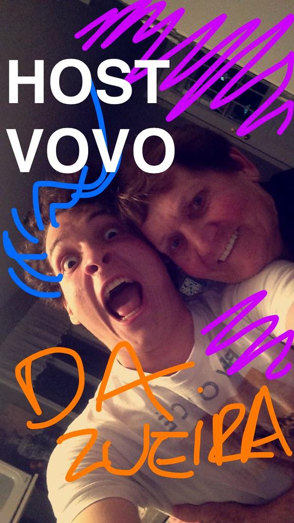 HEHE Eu e a Host Vovó no Snapchat