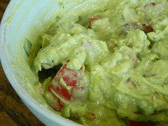 Mexican Flag Guacamole
