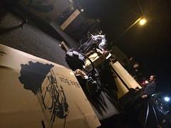 Assembling bikes in the dark