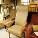 Orthopedic high back armchair
