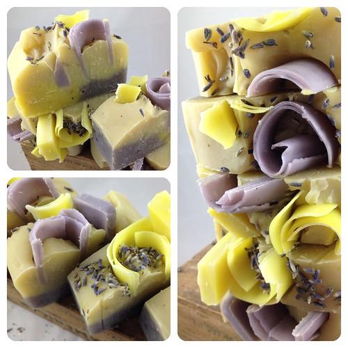 Lemongrass Lavender Soap by The Daily Scrub