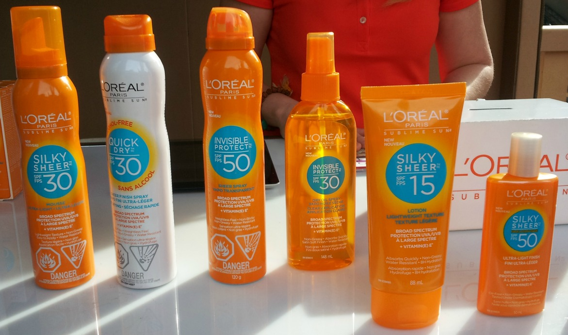 sun screen, SPF, L'Oreal, Sublime, sublime sun,