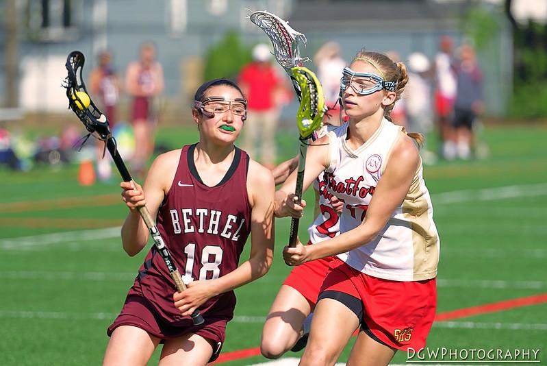 Stratford High vs. Bethel Girls Lacrosse