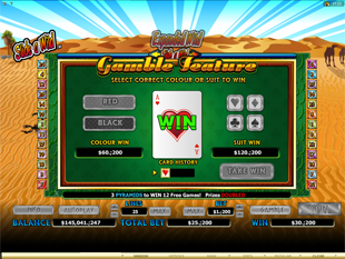 Crocodopolis Gamble Feature