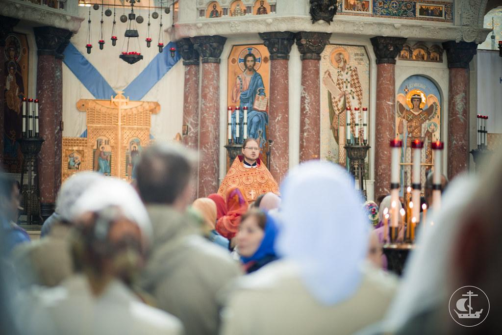 18 мая 2014, Литургия в Никольском Морском соборе в Кронштадте / 18 May 2014, Liturgy at St. Nicholas Naval Cathedral in Kronstadt