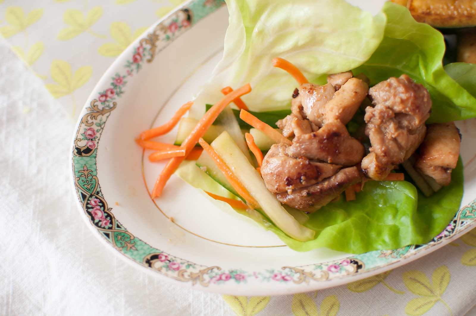 Orange Chicken Lettuce Wraps 2
