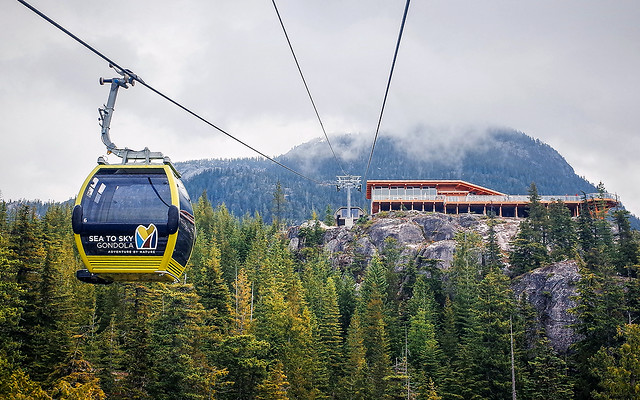 Sea To Sky Gondola with Summit Lodge