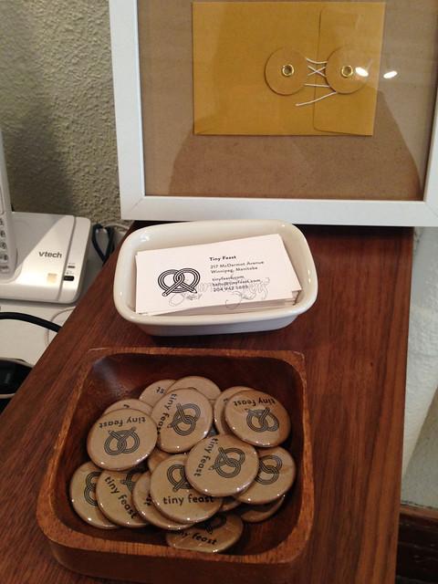 @TinyFeast A Stationery Treat in Winnipeg, Manitoba