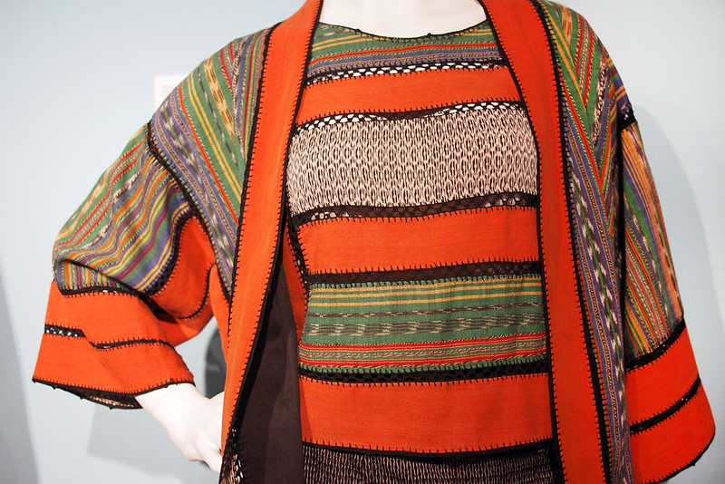 Mexican textiles at the Fashion museum