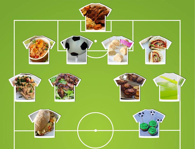 in den töpfen der österreichischen foodblogger: anpfiff zur WM-party!