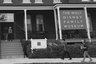 The Walt Disney Family Museum - Sign