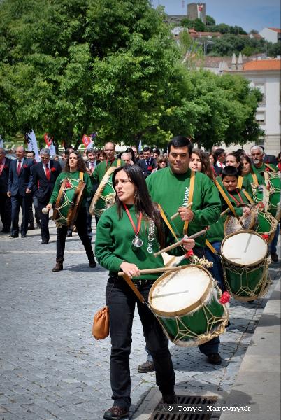 3 - 25 апреля - день революции в Каштелу Бранку - Португалия