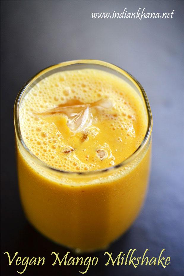 Vegan-Mango-Almond-Milkshake-Recipe