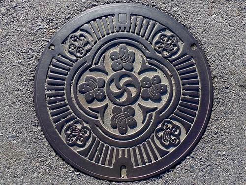Kaneyama Gifu, manhole cover (岐阜県兼山町のマンホール)
