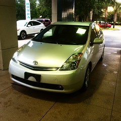 Hard work pays off after all  #newwhip #toyota #prius #itonlytookayear #happygirl