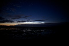 Noctilucent Clouds - with reflection too!