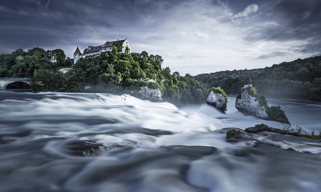 The Rhine Falls, Switzerland