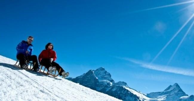 Sáňkování: Grindelwald a Preda Bergün
