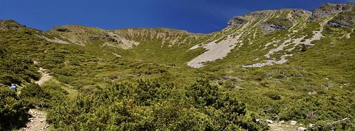 雪山雪東線-雪山圈谷