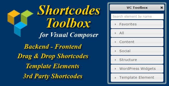 Visual Composer Shortcode Toolbox v2.1