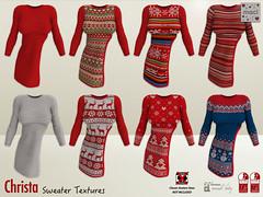 Maci ~ Christa (Sweater Textures)