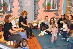 Bebencontros na Biblioteca Infantil e Xuvenil. Novembro 2016: 13-24 meses