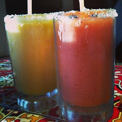 #Mango and #Strawberry #Margaritas @Chilis #shareslo @ShareSlo2013