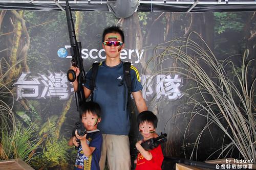 特種部隊父子三人組