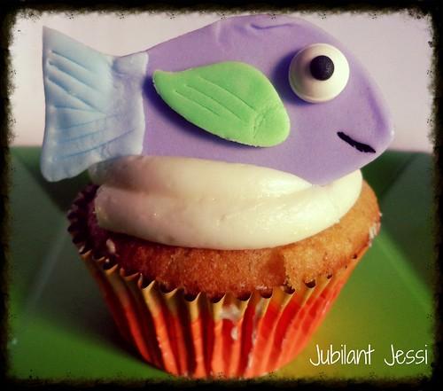 Fishie cuppycake
