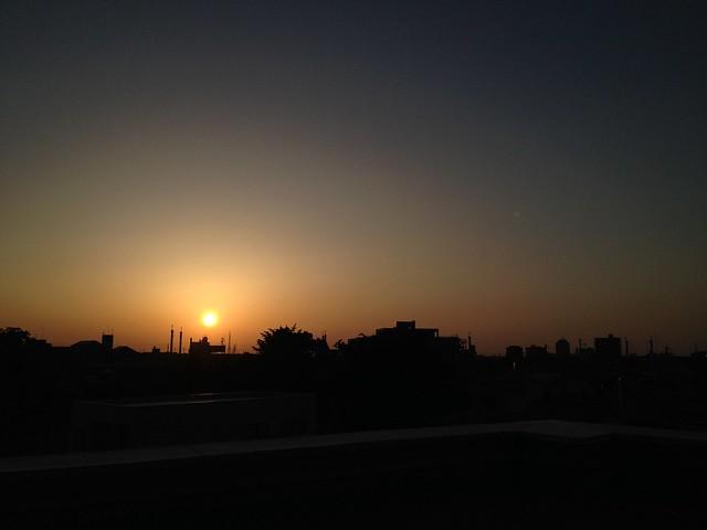 夕焼けなぅ2013 6月の空