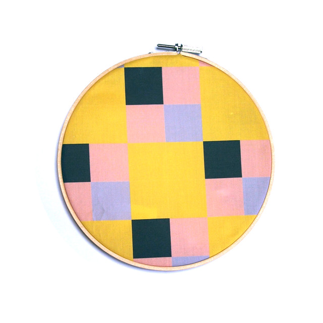 tiles - yellow, beige, black, grey