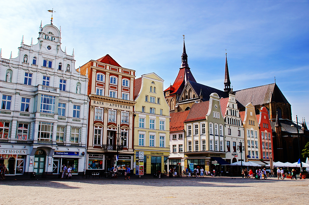 Rostock Germany  City pictures : ... New Market Square in Rostock Germany by TOTORORO.RORO , sur Flickr