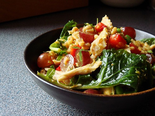 Curry Chicken Farro Salad
